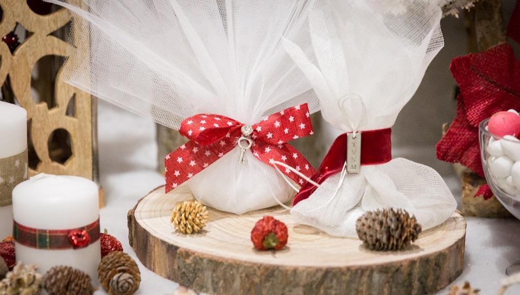 χριστουγεννιάτικες μπομπονιέρες