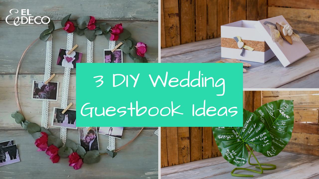 diy wedding guestbook ideas