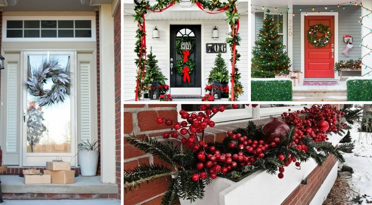 Χριστουγεννιάτικη-διακόσμηση-εισόδου