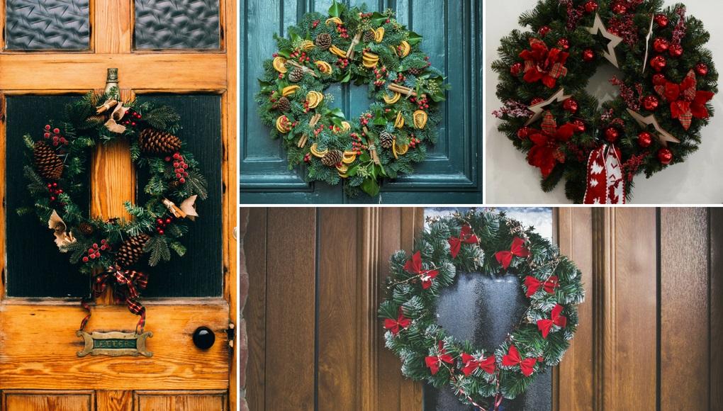 ιδεες για χριστουγεννιάτικα στεφάνια