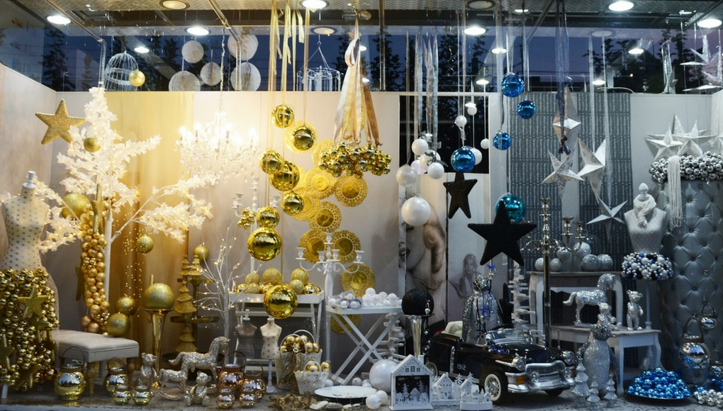 ideas for shop window christmas decoration