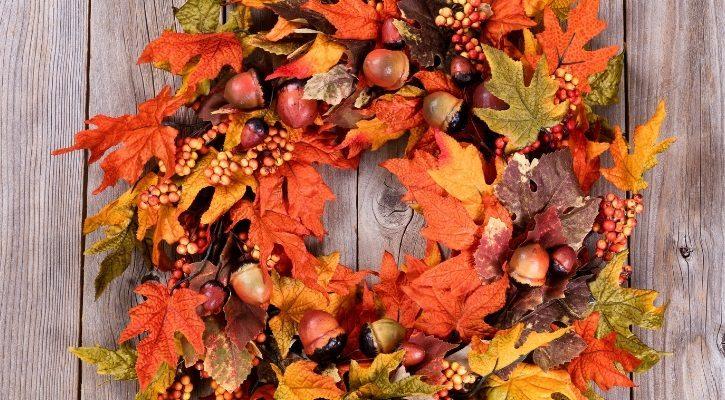 ιδεες για φθινοπωρινα στεφανια