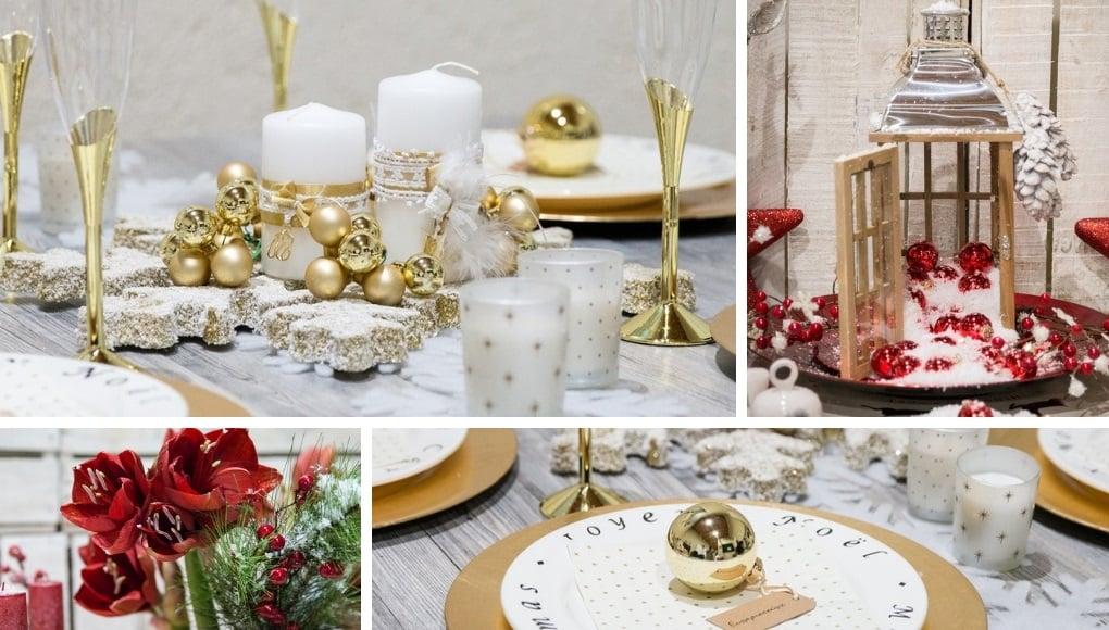 b4a021494c9a 6 Ιδέες για διακόσμηση τραπεζιού σε χριστουγεννιάτικο γάμο - El Deco