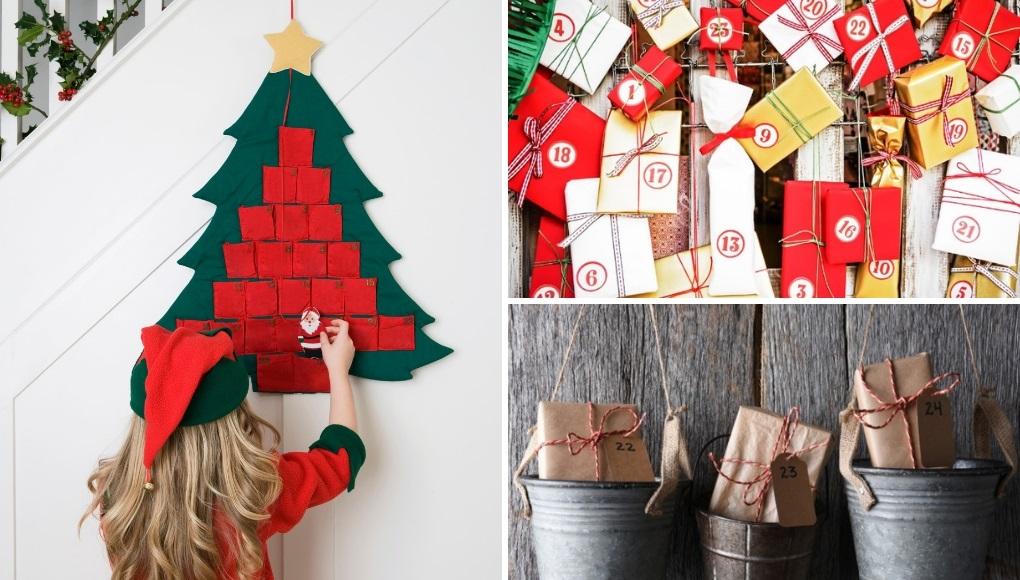 DΙΥ κατασκευή Χριστουγεννιάτικο ημερολόγιο για παιδιά