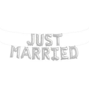 ΜΠΑΛΟΝΙΑ ΓΑΜΟΥ JUST MARRIED FOIL ΑΣΗΜΙ