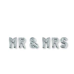 ΜΠΑΛΟΝΙΑ ΓΑΜΟΥ MR & MRS FOIL ΑΣΗΜΙ