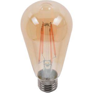 ΛΑΜΠΑ LED EDISON VINTAGE ST64 6X14CM 2W 200LUMEN