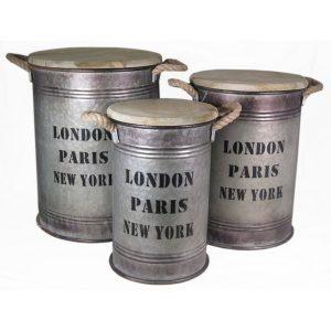 ΣΚΑΜΠΩ 27Χ42CM LONDON/PARIS/NEW YORK