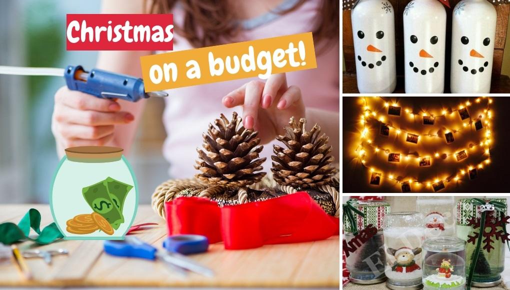 οικονομικό χριστουγεννιάτικο στολισμό σπιτιού