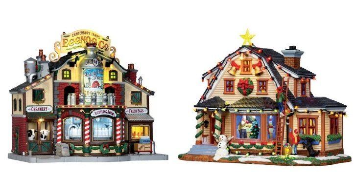 Εργοστάσιο έγκνογκ και χριστουγεννιάτικο σπίτι