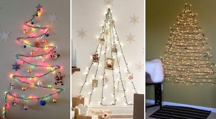 Χριστουγεννιάτικο δέντρο από φωτάκια