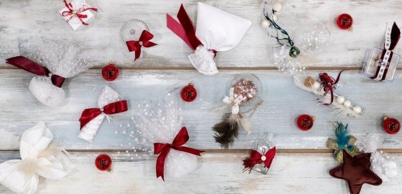 Hot χριστουγεννιάτικες μπομπονιέρες γάμου 2018