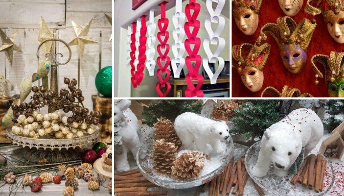 Ιδέες για αλλαγή βιτρίνας μετά τα Χριστούγεννα
