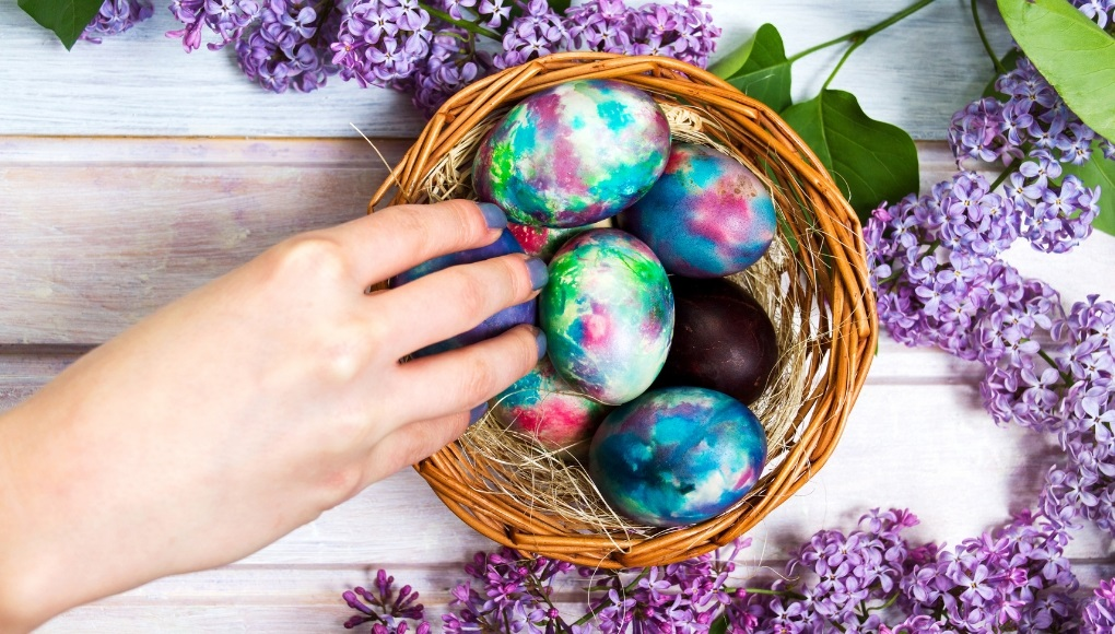 Ιδέες για πρωτότυπα πασχαλινά αυγά - idees gia vapsimo avgon