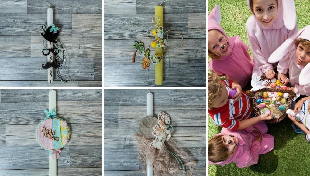 Ιδέες για DIY πασχαλινές λαμπάδες για παιδιά