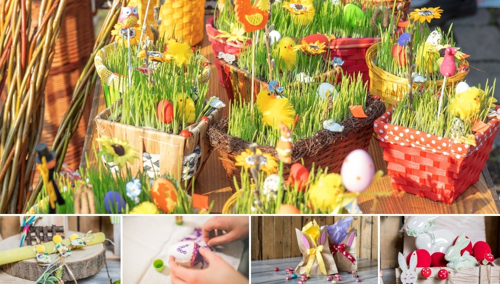 Ιδέες και κατασκευές για πασχαλινό bazaar 2019