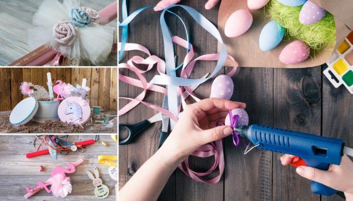 Πασχαλινές λαμπάδες για κορίτσια Ιδέες και χρώματα