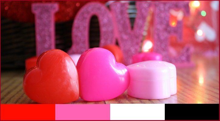 Ρομαντικές και ερωτικές αποχρώσεις