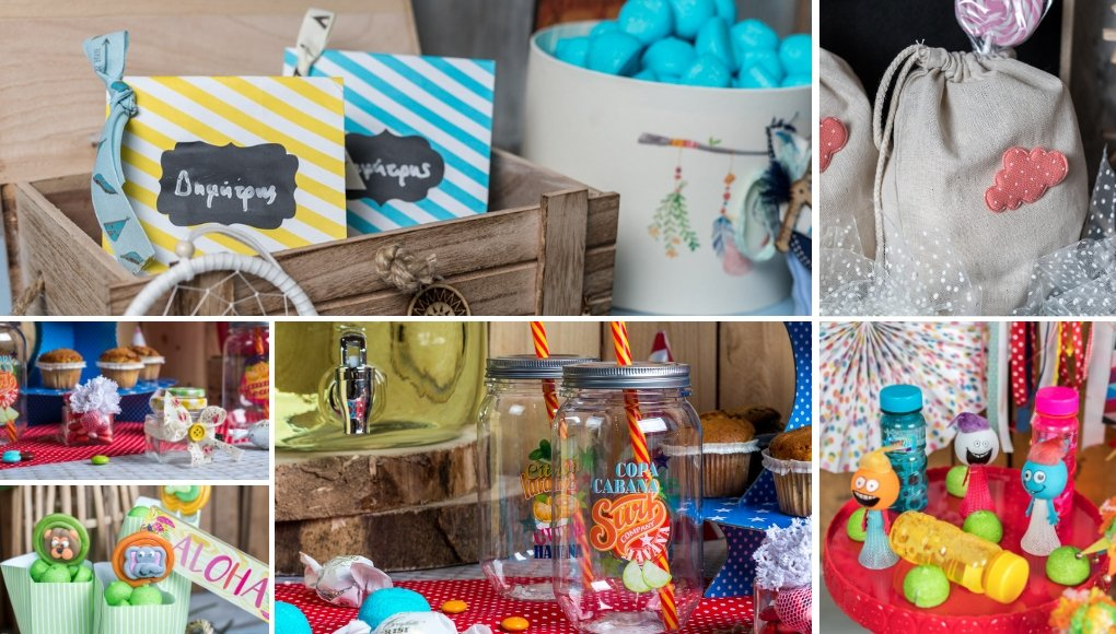 Ιδέες για δωράκια για παιδικό πάρτυ
