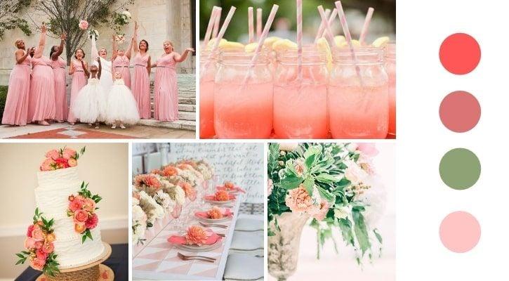 19a355d02f82 6 Ιδέες και Χρώματα για καλοκαιρινό γάμο 2019 - El Deco