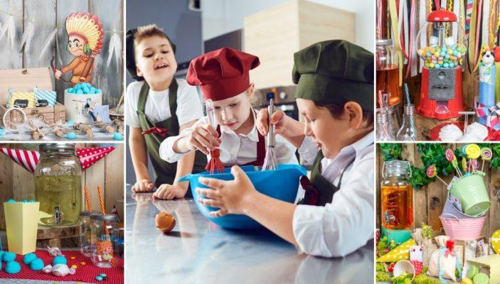 θέματα και ιδέες για παιδικό πάρτυ γενεθλίων