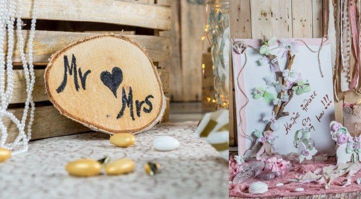 Διακοσμητικές Πινακίδες DIY γαμου και βαπτισης