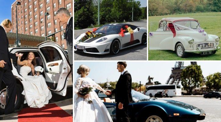 Μεταφορά νύφης με αυτοκίνητο στην εκκλησία