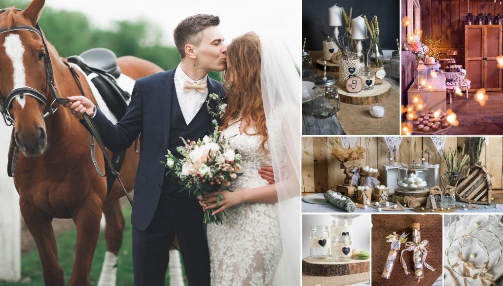 9418284d266d Ρουστίκ Γάμος  9 Μοναδικές Ιδέες - El Deco