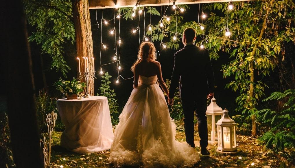 φωτισμος δεξιωσης γαμου, βαπτισης, παρτυ