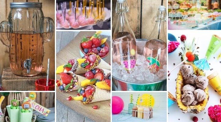 Candybar παιδικού πάρτυ