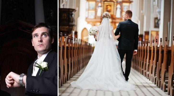 Η αργοπορία της νύφης στην εκκλησία - έθιμα γάμου στην Ελλάδα