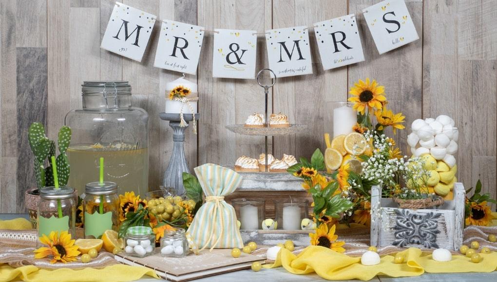 Γάμος με θέμα λεμόνι 9 Φανταστικές Ιδέες
