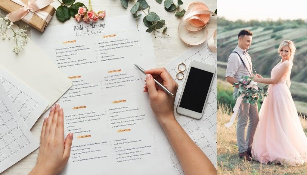 Λίστα οργάνωσης γάμου, ενας οδηγος γαμου για να μπεις σε προγραμμα