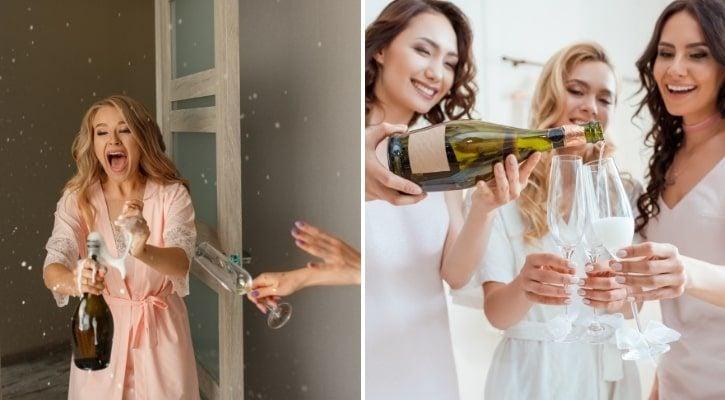 Τι να μη κάνεις τη μέρα του γάμου κατανάλωση αλκοόλ