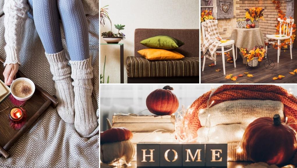 οικονομικη φθινοπωρινη διακοσμηση σπιτιου