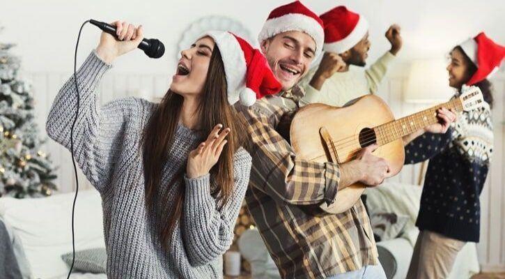 Χριστουγεννιάτικο καραόκε πάρτυ
