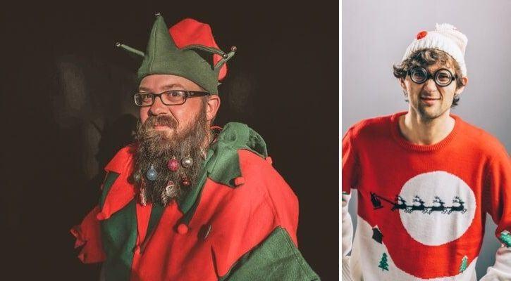 Χριστουγεννιάτικο πάρτυ μασκαρέματος