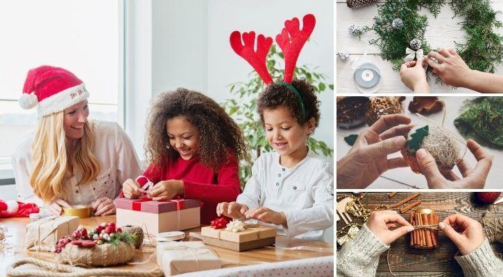 DIY χριστουγεννιάτικες κατασκευές - χριστουγεννιάτικος οδηγός αγορών
