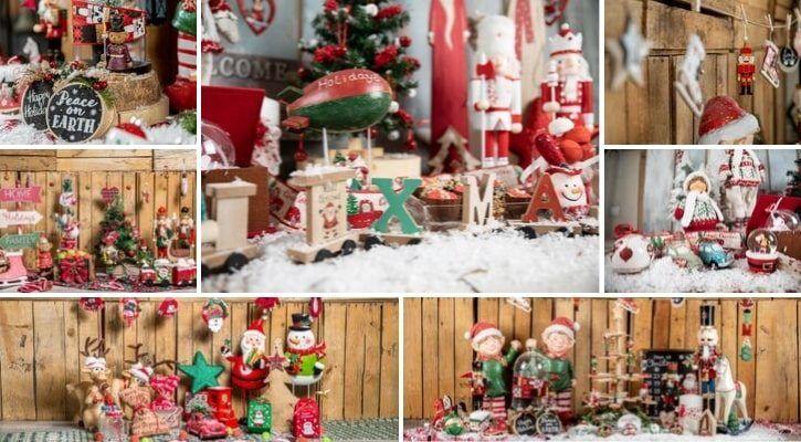 Κλασική παιδική χριστουγεννιάτικη διακόσμηση για τα πρώτα Χριστούγεννα με το μωρό