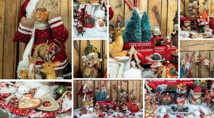 Κλασική χριστουγεννιάτικη διακόσμηση