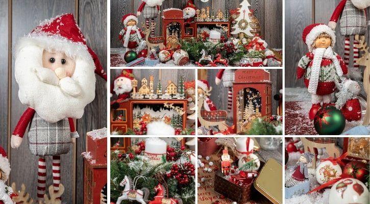 Vintage χριστουγεννιάτικη διακόσμηση