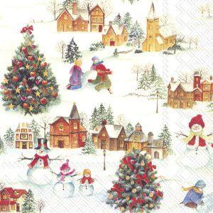 ΧΑΡΤΟΠΕΤΣΕΤΕΣ Χ20 33CM HAPPY CHRISTMAS TIME