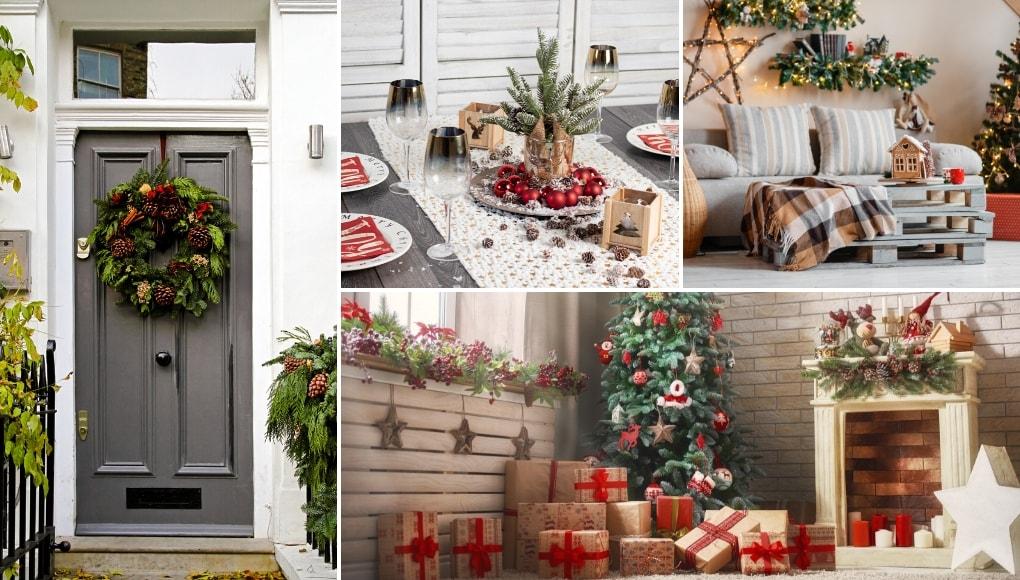 χριστουγεννιάτικη διακόσμηση σπιτιού ιδέες