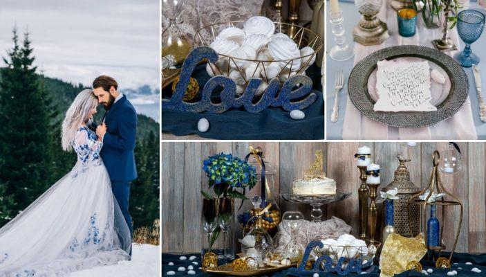 Γάμος 2020 σε Μπλε Χρώμα Ιδέες και Συμβουλές - χρώμα γάμου τάσεις