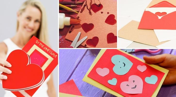 DIY κάρτες Αγίου Βαλεντίνου