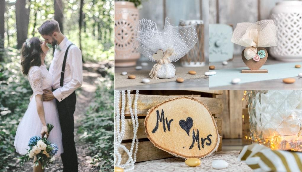 Ξύλινες Μπομπονιέρες Γάμου