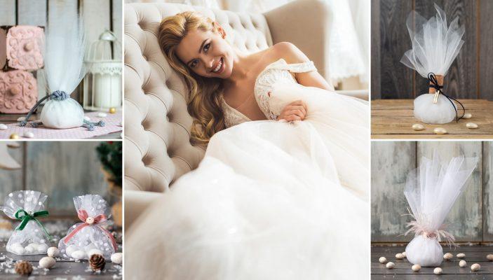 10+3 Ιδέες για Τούλινες Μπομπονιέρες Γάμου