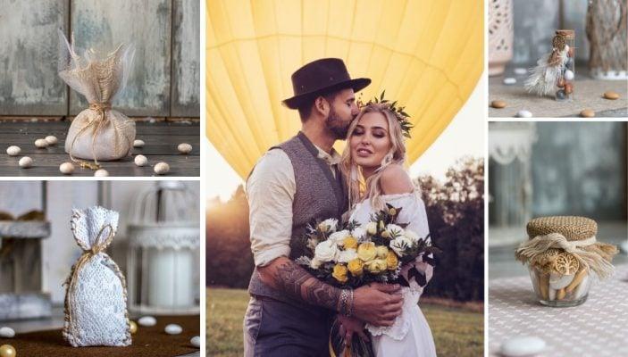8 Ιδέες για Boho Μπομπονιέρες Γάμου