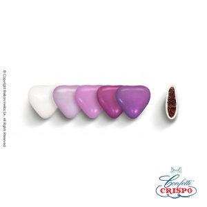 ΚΟΥΦΕΤΑ CHOCO ΚΑΡΔΙΑ ΜΙΝΙ 1/2 KG.500TEM CRISPO (ΛΙΛΑ)