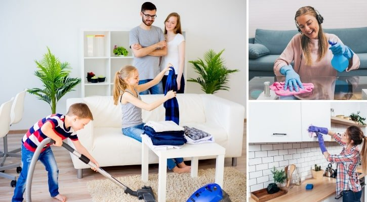 Ξεκαθάρισμα και τακτοποίηση σπιτιού